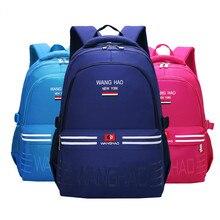 Waterproof children school bags Girls Boys Kids Satchel Orthopedic Backpack schoolbags primary backpack mo