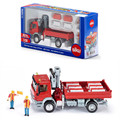 Free Shipping/Siku 1:50 Scale/Diecast Toy Car Model/Mercedes-Benz With Crane engineering/Educational/Collection/Toy for children