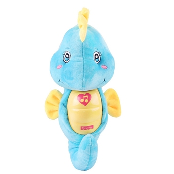 Cute Baby Toys Soft Plush Toys Doll Seahorse Musical Sound Toys BB Child Sleep Lamp Baby Appease Nightlight Enlightenment Toys baby toys