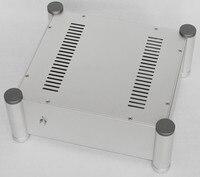 Tüketici Elektroniği'ten Amplifikatör'de Yeni alüminyum şasi/ön amplifikatör şasi/ev DIY ses şasi