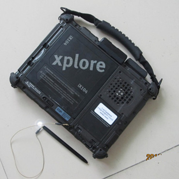 Рекомендованные MB Star C5 v2018.03 с ноутбуком Xplore ix104 прочный i7 Tablet Последним диагностический Программы для компьютера звезды MB SD подключения C5
