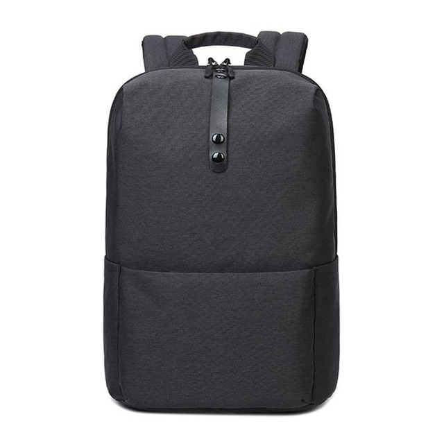 71ead96805 2018 black Brand Trend Couple backpacks Men Minimalist Fashion Women  Backpack 15