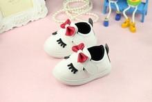 2016 tavasz új női baba hercegnő cipő puha alsó kisgyermek cipő gyermekcipők bébi cipő első gyalogló Ingyenes szállítás
