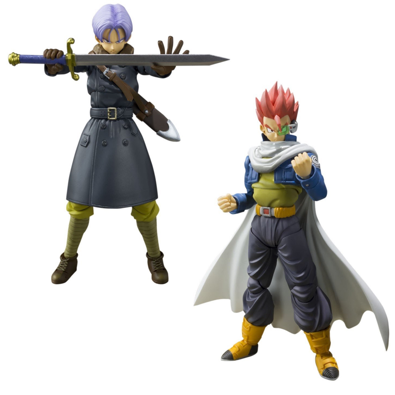 Dragon Ball Xenoverse Action Figure Tamashii Nations S.H. Figuarts Time Patroler Trunks Collectible Mascot Toys 100% Origin