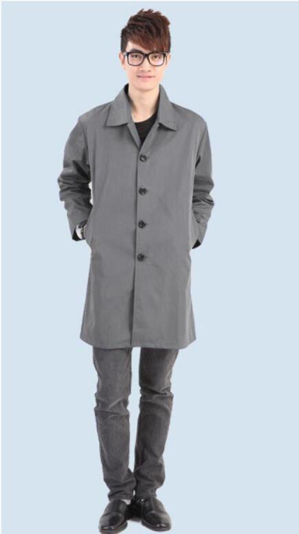 Coupe-vent anti-rayonnement EMF en fibre d'argent sur mesure, famille, travail charge électrique dommages aux rayonnements vêtements de protection, vêtements