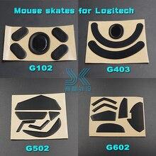Тефлоновое покрытие 3M Мышь коньки для logitech G502 G403 G602 G603 G703 G700 G700S G600 G500 G500S 0,6 мм игровая Мышь средства ухода за кожей стоп замены ноги