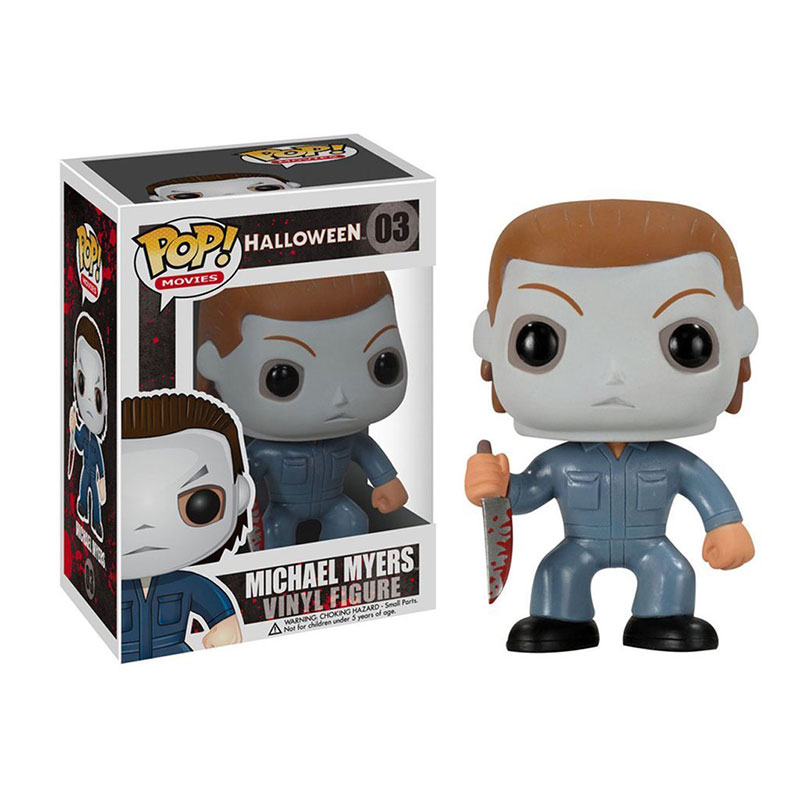 Funko pop Official Horror Movies: Halloween - Michael Myers Vinyl Action Figure Collectible Model Toy with Original Box  funko pop games illidan 14 pvc action figure collectible model toy 4 10cm kt2242