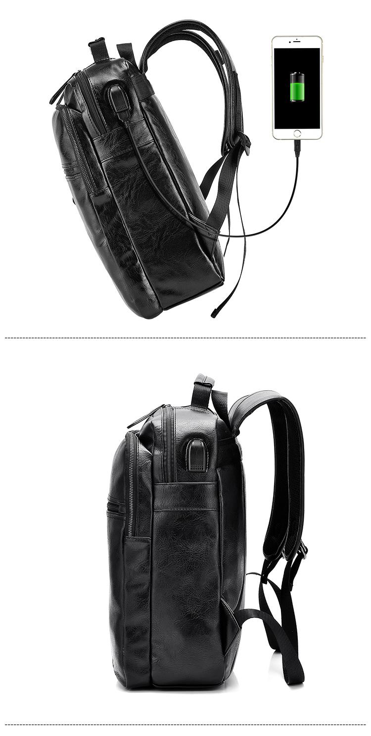 Topdudes.com - Business Casual PU Leather Fashion Shoulder Bags