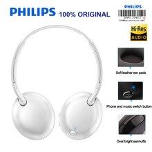 Philips SHB4405 bezprzewodowy zestaw słuchawkowy/słuchawki Bluetooth regulacja głośności Stereo Bass dla Galaxy Note 8 S8 PLUS Xiao mi 8 Hua Wei