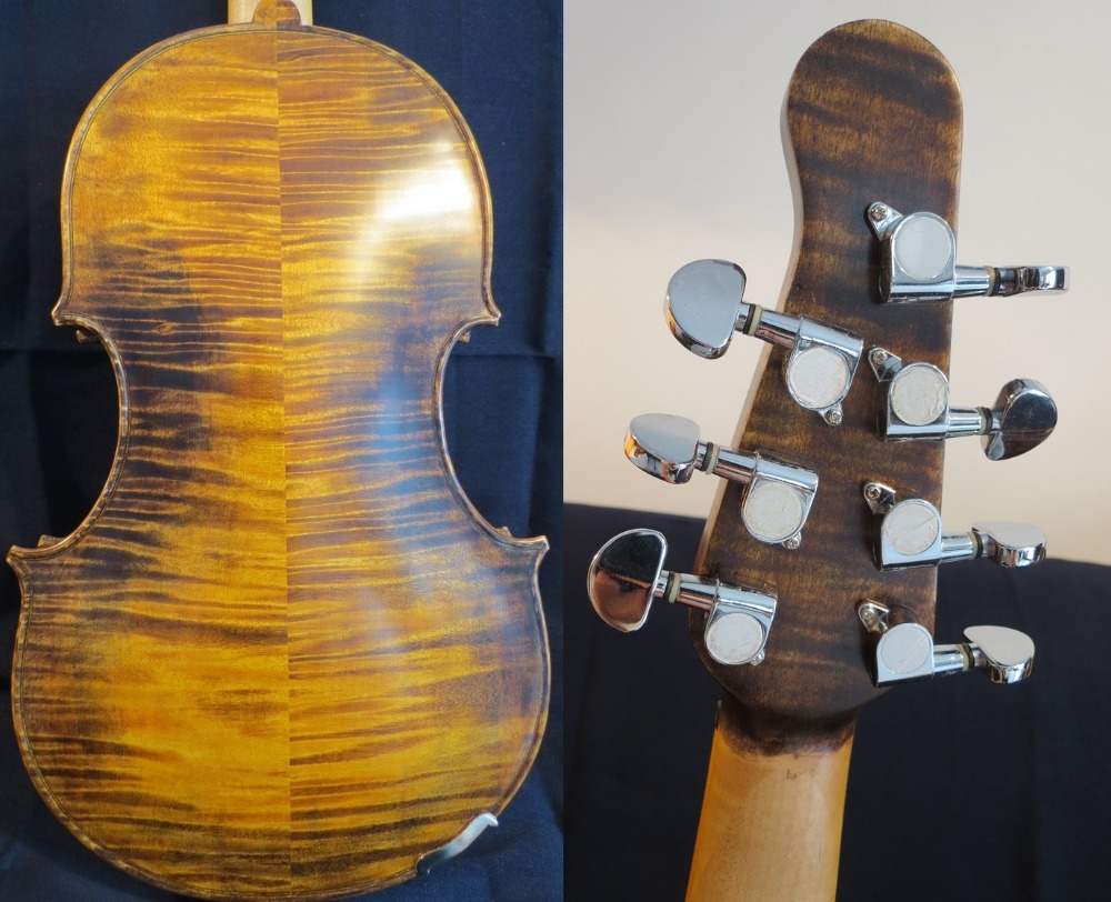 Sports & Entertainment 1pcs Student Viola White Neck Natural Ebony Fingerboard 16 Size Viola Parts Goods Of Every Description Are Available