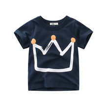 2019 summer clothes new boys t-shirts children Korean version childrens
