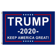 Drop Shipping Flag Trump 2020 Banner Double Sided Printed 90*150cm Presidential Election Campaign Hot