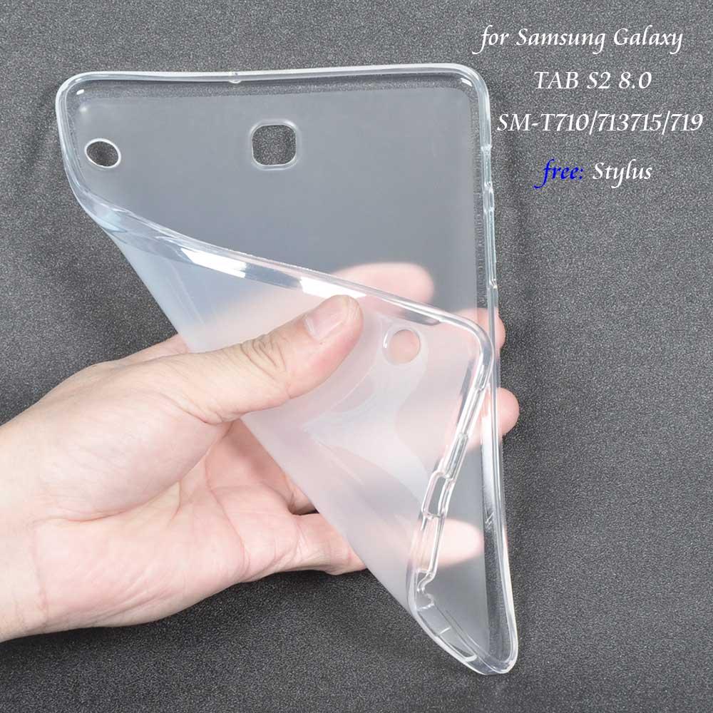 все цены на Case for Samsung Galaxy TAB S2 8.0 Soft TPU Cover Funda for Samsung Galaxy TAB S2 8.0 SM-T710 T713 T715 T719 8inch Tablet+Stylus онлайн