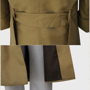 Image 5 - 분고의 길 잃은 개 의상 형사 기관 오사무 다자이 코스프레 망 트렌치 코트 2019 새로운 패션 디자이너 남자 롱 코트