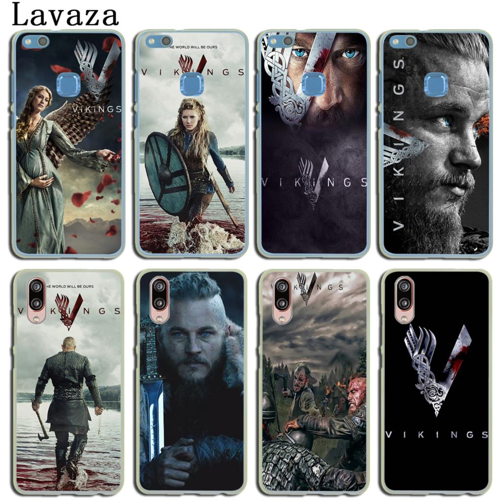 Lavaza Ragnar Lothbrok Vikings Phone Case for Huawei P20 P10 P9 Plus P8 Lite Mini 2015 2016 2017 P Smart Mate 10 9 Pro Lite