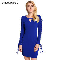 Female Fashion Sexy Dress Autumn 2017 Women Slim Pencil Dress Women S V Neck Short Dresses