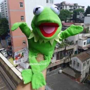 Куклы плюшевая игрушка Кермит Лягушка плюшевая куклы для театра марионеток >> Vena Trading Co, Store