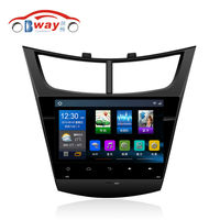 Capacitive 9 1024 600 Quadcore Android 4 4 Car Radio For 2015 Chevrolet Sail 3 Low