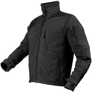 Image 2 - Mege Marke Taktische Bekleidung military Fleece Herbst Winter herren Jacke Armee Polar Warme Männlichen Mantel Outwear jaquetas masculino