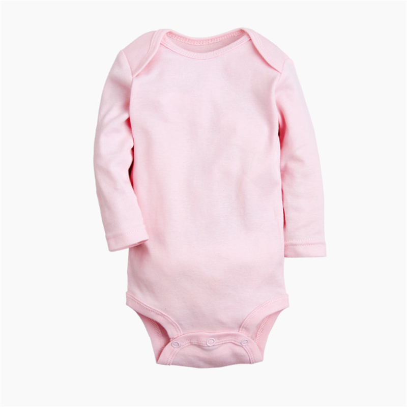 Cotton Baby Rompers Spring Baby Boy Clothes Solid Newborn Clothing Long Sleeve Baby Girl Clothing Roupas Bebe Infant Jumpsuits cotton baby rompers set newborn clothes baby clothing boys girls cartoon jumpsuits long sleeve overalls coveralls autumn winter