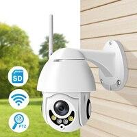 Luowice 5xzoom PTZ WIFI IP Dome Camera 960P Outdoor Waterproof 1.3MP Security Speed Camera TF Card Wireless IP Cam camhi App