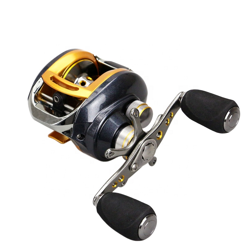 Yumoshi stock Baitcast AOC 12 1BB fishing surf Casting Reels Low profile reel