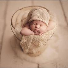 65X175cm Neonatal photography props wrap mat blanket