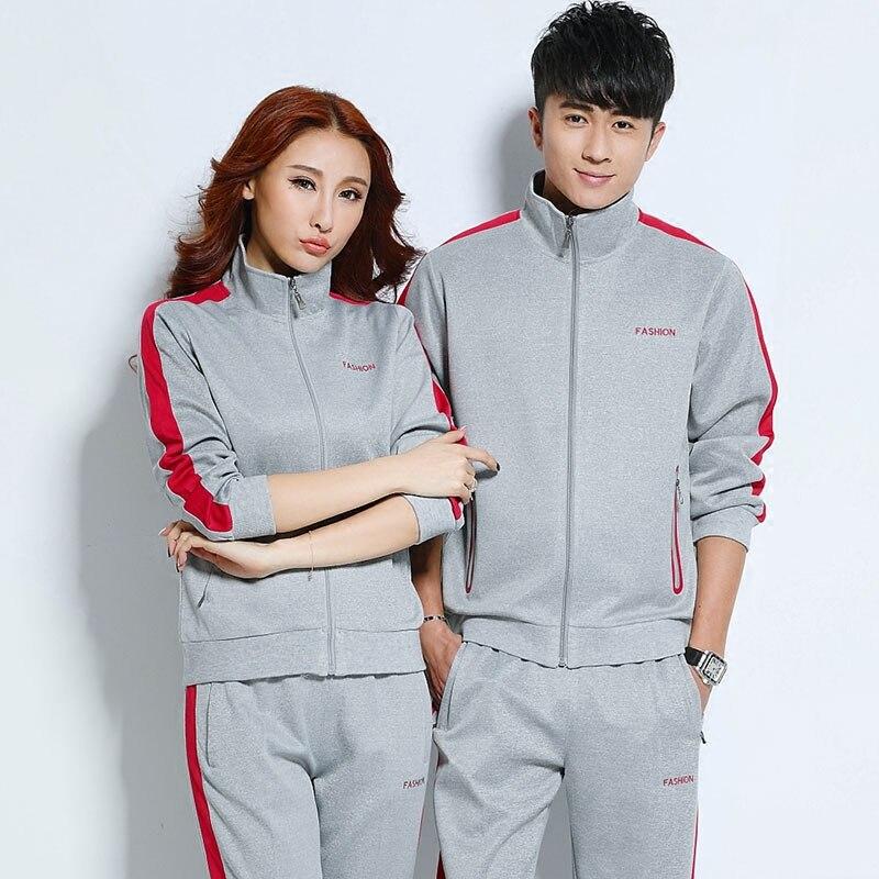 Costume de Sport femmes hommes ensemble de course hommes Sport costumes Fitness Sport porter des femmes vêtements de course pour hommes Sport ensemble Couples Sportswear