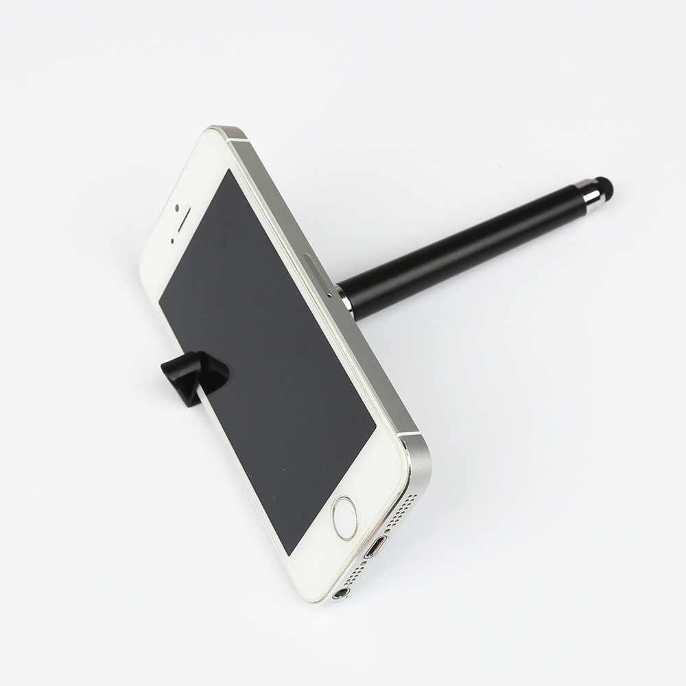 Teléfono Móvil multifunción Stylus + bolígrafo + soporte para teléfono móvil regalo anuncio Logo imagen personalizada DIY para Iphone 6 7