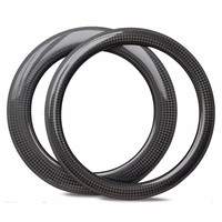 700c Carbon Rim For Road Bike and Cyclocross 30mm 38mm 47mm 50mm 60mm 88mm Clincher Tubular Tubeless
