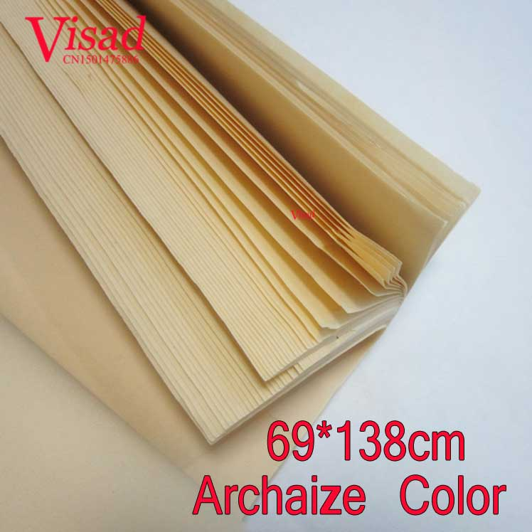 thicken Chinese Rice Paper decoupage painting paper drawing Archaize Xuan Paper watercolor paper painting supplies