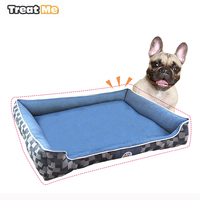 High Quality Removable Dog Beds for small dogs Soft Pet Sofa Cat House PP Cotton Washable S M camas para perros