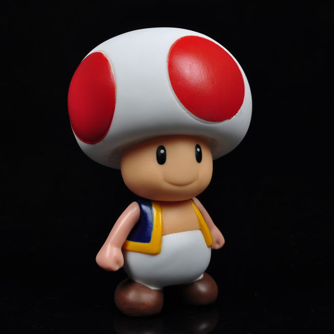"20104 New Mario Bros 3.5"" <font><b>Mushroom</b></font> <font><b>boy</b></font> <font><b>Poseable</b></font> <font><b>Action</b></font> <font><b>Figure</b></font> Toy xwx01"