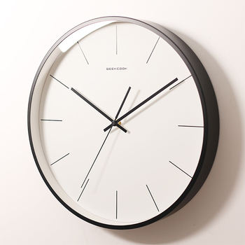 European Wall Clock Modern Design Silent Clock Digital Mechanism Clocks Horloge Kitchen Clocks Wall Home Decor 50Q246