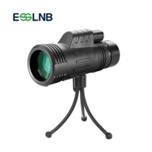 10X42 Monocular Telescope with Compact Tripod Powerful Wide Field of View Telesc