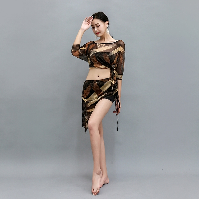 Bellydance oriental Belly Indian eastern baladi saidi swing robe dance dancing costumes clothes bra belt skirt dress wear 3657