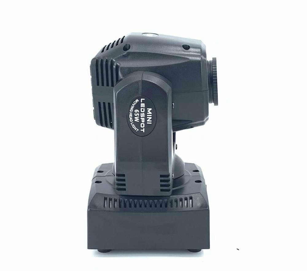 60W LED Spot Moving Head Light 65W LED DJ Beam Light LED Spot Light with gobo&color wheel Disco DJs Equipmentnt