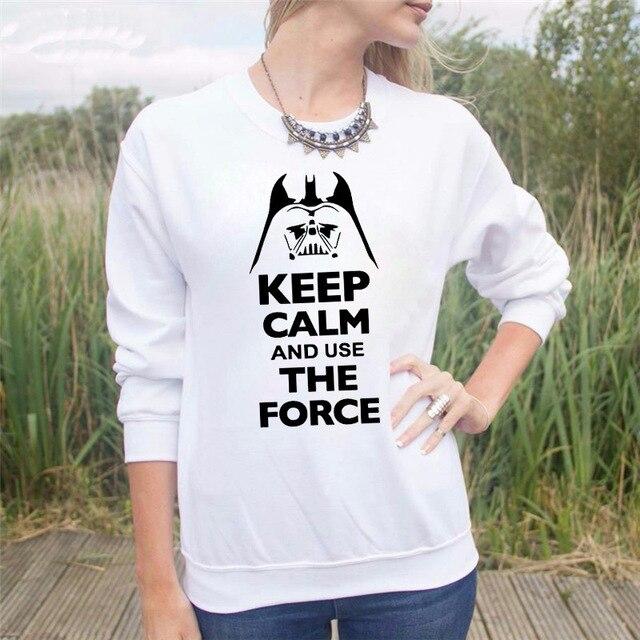 Star Wars Women Sweatshirt – Keep Calm