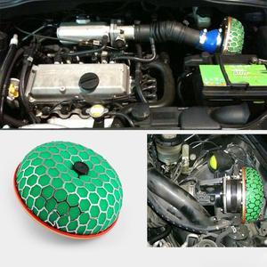 80 мм высокопрочный зеленый красный воздушный фильтр 100 мм круглый грибной дизайн воздушный фильтр для автомобиля воздухоочиститель подачи воздушный фильтр