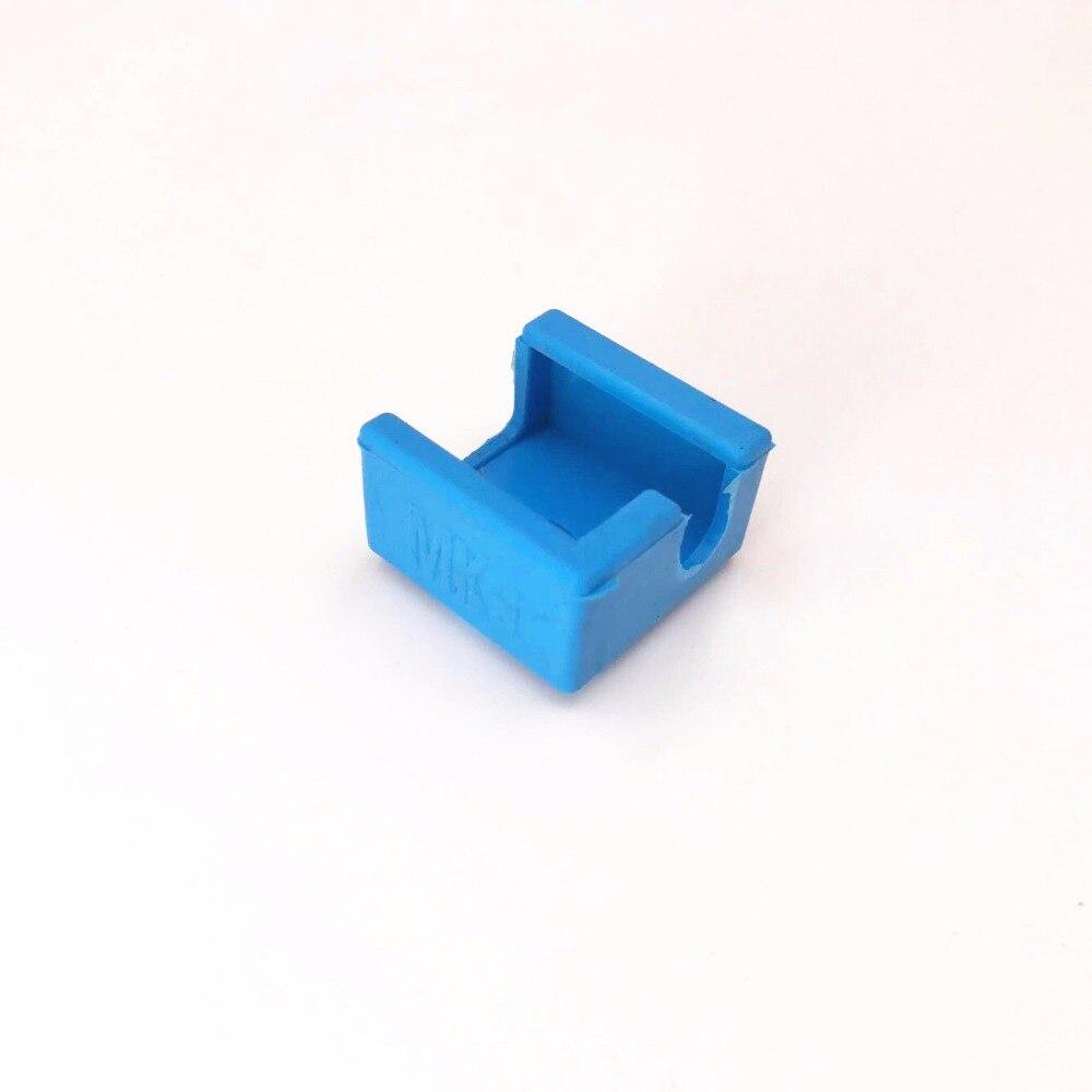 Funssor MK7/ MK8/MK9 Silicone Socks instead ceramic insulation for Wanhao Anet reprap Prusa SILICONE HEATER BLOCK COVER