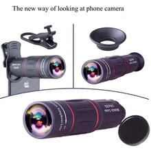 APEXEL Universal 18×25 Monocular Zoom HD Optical Lens for Smartphone