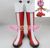Sonic the Hedgehog Amy Sonic Boom TV Series Amy Rose Cosplay Shoes Boots Custom Made