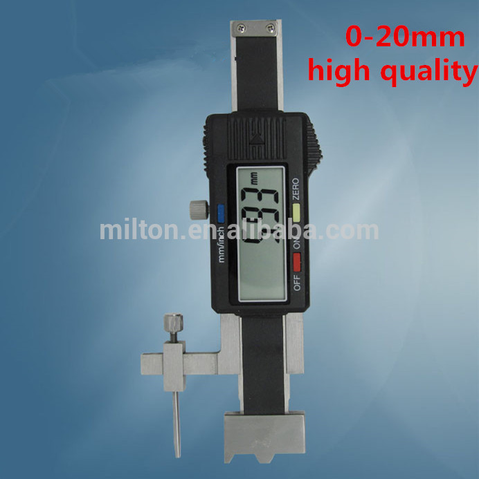 20mm Digital Step Gauge with exchangeable measuring point to measure mutual position two adjacent surfaces