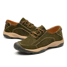 News Men Outdoor Sneakers Breathable Hiking Shoes Big Size Women Sandals Trekking Trail Water