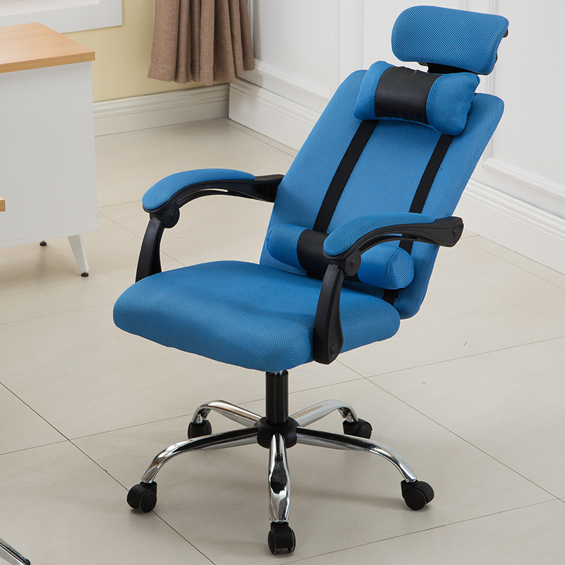 WB# 3435 Computer cloth office chair household Internet gaming staff ergonomic lifting rotating seat can trip 240340 high quality back pillow office chair 3d handrail function computer household ergonomic chair 360 degree rotating seat