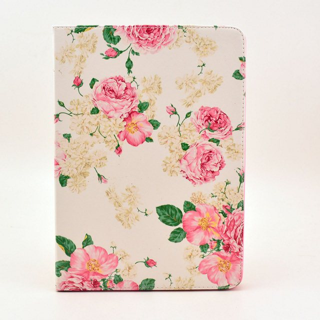 Flower pu leather Flip Case for Apple iPad air 1 2 iPad mini 4 iPad 2 3 4 Case Stand Cover Case With Card Holder Free Shipping owl flip pu leather case for apple ipad air 2 ipad mini 4 ipad 2 3 4 5 6 case tablet smart stand cover with card holder