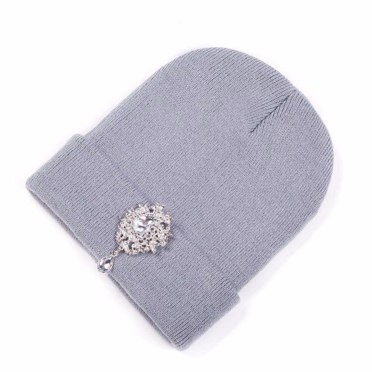 ba191793284 ⑦Ralferty 2017 New Winter Hats For Women Warm Knitted Luxury Flower ...