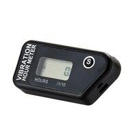 RL HM016B Digital Wireless Vibration Hour Meter Resettable Meter For Motorcycle ATV Dirt Bike Lawn Mower