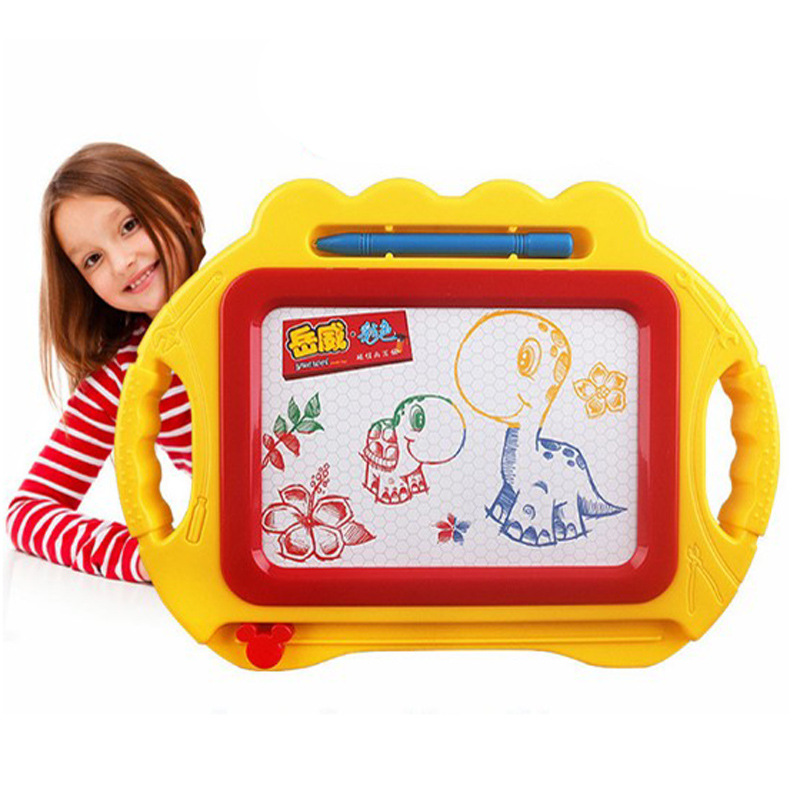 2018 Toys for Boys Mini Magnetic Drawing Board Environmental Protection Color Graffiti Kindergarten Learning Spirograph Toys