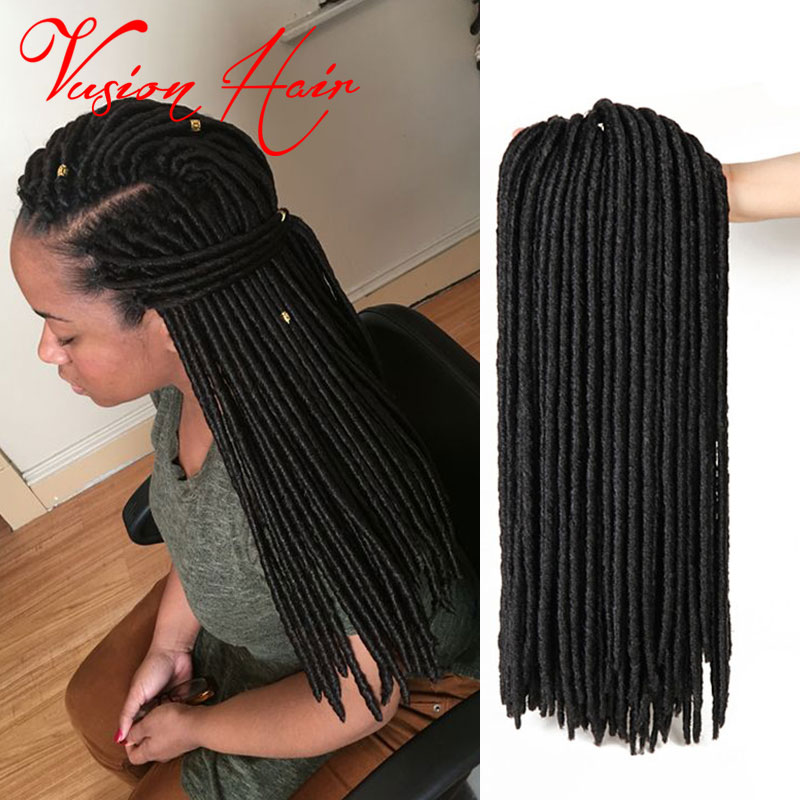 Crochet braid latch hook hair 20inch 20roots kanekalon braids faux crochet braid latch hook hair 20inch 20roots kanekalon braids faux locs cheap crochet braiding hair extensions soft dread hair on aliexpress alibaba pmusecretfo Image collections